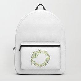 Green Little Bird Nest Backpack