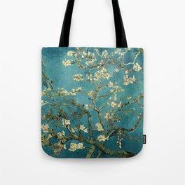 Van Gogh Blossoming Almond Tree Tote Bag