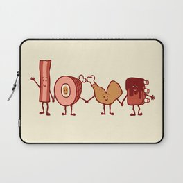Meat Love U Laptop Sleeve