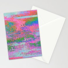 08-12-13 (Building Pink Glitch) Stationery Cards
