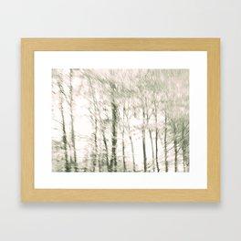 Windy Woods Framed Art Print