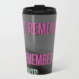 Remember moments Metal Travel Mug