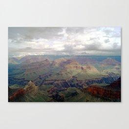 Cloudy Grand Canyon II Canvas Print