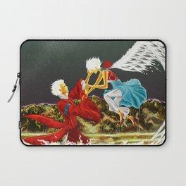 White Coals' Meeting Laptop Sleeve