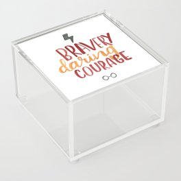 The Most Brave Acrylic Box