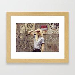 salute Framed Art Print