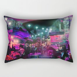Tunes of the Night Rectangular Pillow
