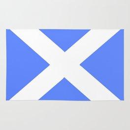 flag of scotland 5– scotland,scot,scottish,Glasgow,Edinburgh,Aberdeen,dundee,uk,cletic,celts,Gaelic Rug