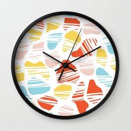 Okapi Animal Print Wall Clock