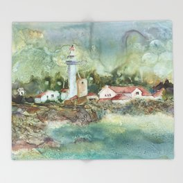 Whitefish Point Throw Blanket