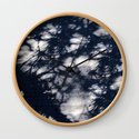 Navy Blue Pine Tree Shadows on Cement by naturaldesign