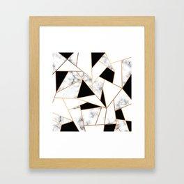 Marble III 003 Framed Art Print