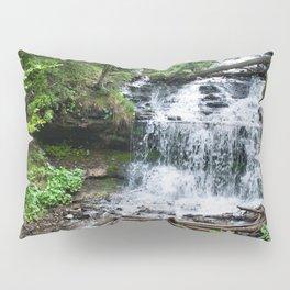 Wagner Falls, Munising, Michigan Pillow Sham