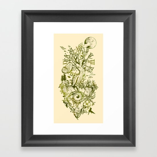 A Glimpse in Time Framed Art Print