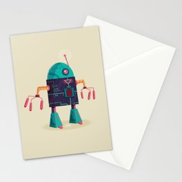 :::Mini Robot-Arpax::: Stationery Cards