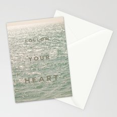 Follow you heart Stationery Cards
