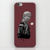 rick grimes iPhone & iPod Skins featuring The Walking Dead Rick Grimes by Cursed Rose