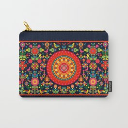 Wayuu Tapestry Inspiration - Digital Art Carry-All Pouch
