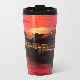 Desert Sun Metal Travel Mug