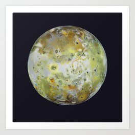 Portrait of Io 2 Art Print