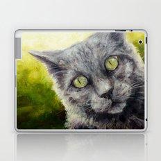 Kitty in the Summer Sun Laptop & iPad Skin
