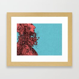Within 2 Framed Art Print