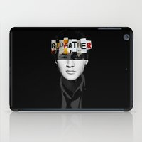the godfather iPad Cases featuring Godfather Mix 2 black by Marko Köppe