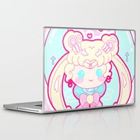 sailormoon Laptop & iPad Skins featuring Marshmallow Sailormoon by Candy Castle