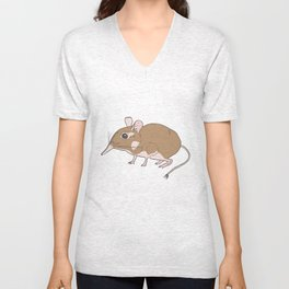 Elephant Shrew Unisex V-Neck