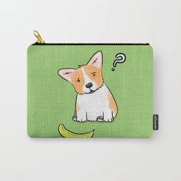 Suspicious Corgi Carry-All Pouch