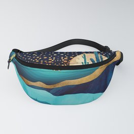 Indigo Desert Night Fanny Pack