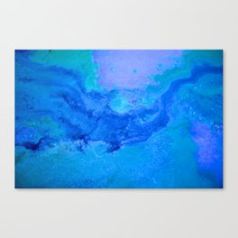 Les Bleus Canvas Print