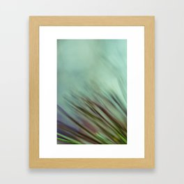 A Cool Breeze Framed Art Print