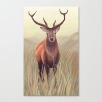 elk Canvas Prints featuring ELK by Juliana Vidal