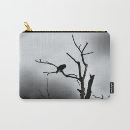 Solitary Crow Carry-All Pouch