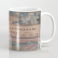 macaroons Mugs featuring Macaroons by drskippyart