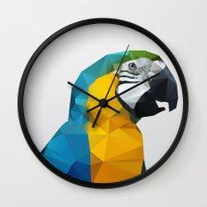 Geo - Parrot Wall Clock