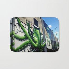 """""""Green Octopus"""" Bath Mat"""