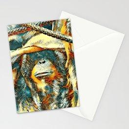 AnimalArt_OrangUtan_20170903_by_JAMColorsSpecial Stationery Cards