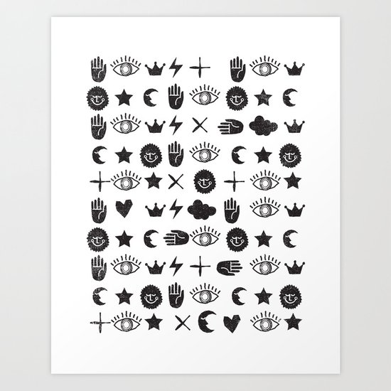 ICONOGRAPHY Art Print