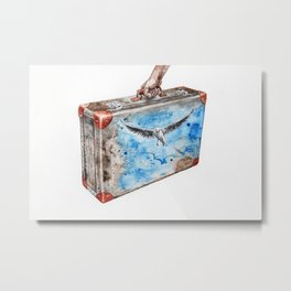 Travel Metal Print
