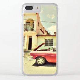 Trinidad Edsel Clear iPhone Case