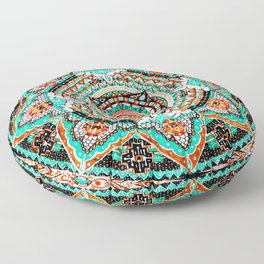 Illuminated Consciousness Floor Pillow