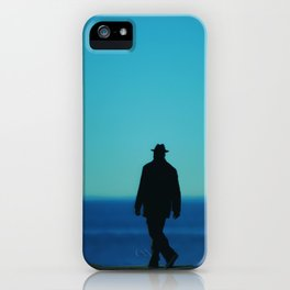 Mysterious Man iPhone Case
