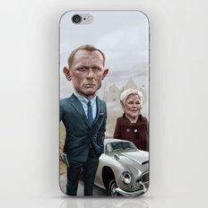 Skyfall James Bond - Daniel Craig iPhone & iPod Skin
