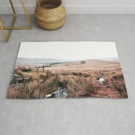 Landscape in Wales Rug