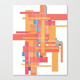 Sherbet Scaffold  Canvas Print