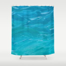 Where Feet May Fail Shower Curtain