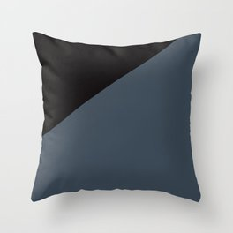 Color Dominance Throw Pillow