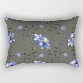 Moon Light Bouquet Rectangular Pillow